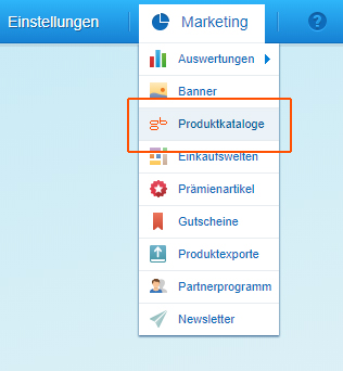Marketing > Produktkataloge