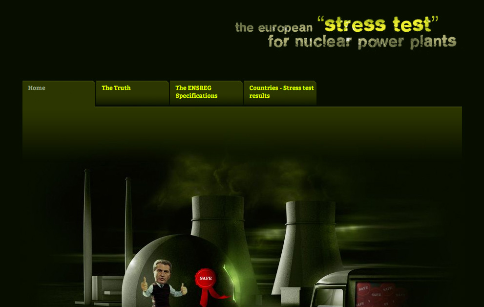 the european stress test for nuclear power plants